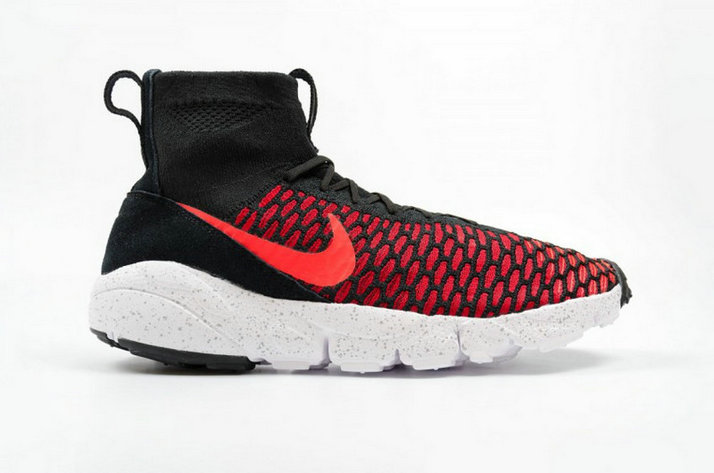 Cheap Nike Air Footscape Magista Flyknit Black Red Bright Crimson On VaporMaxRunning