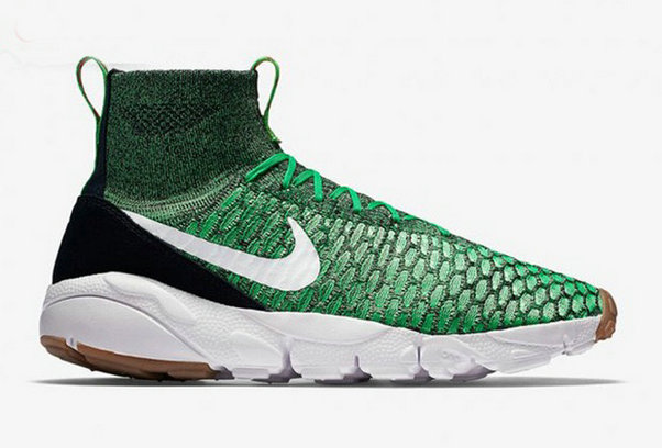 Cheap Nike Air Footscape Magista Flyknit Grass Green Black White On VaporMaxRunning