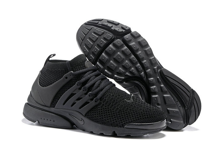 Cheap Nike Air Presto Flyknit Ultra All Black On VaporMaxRunning