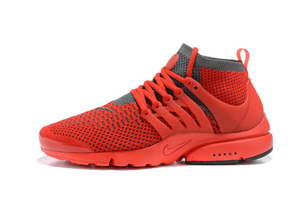 Cheap Nike Air Presto Flyknit Ultra Red Grey On VaporMaxRunning