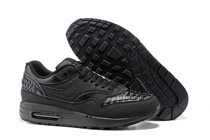 Cheap Nike Air Max Lunar 1 Deluxe All Black On VaporMaxRunning