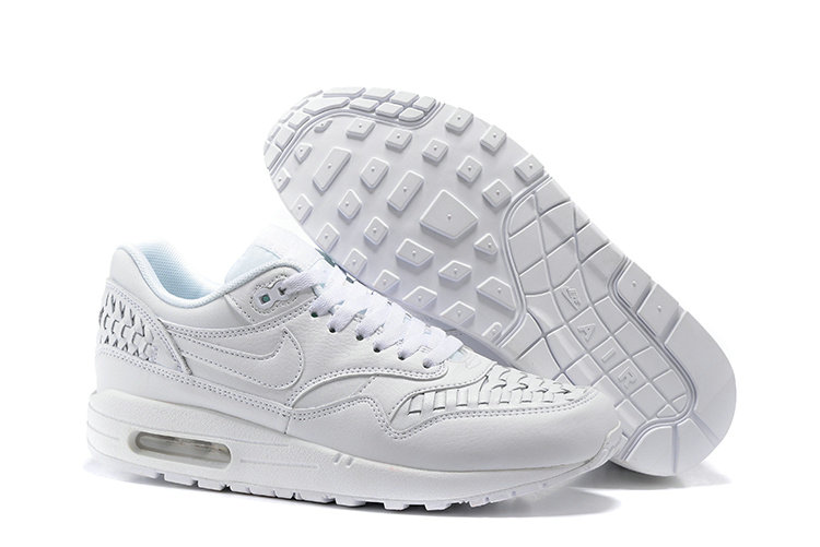 Cheap Nike Air Max Lunar 1 Deluxe All White On VaporMaxRunning