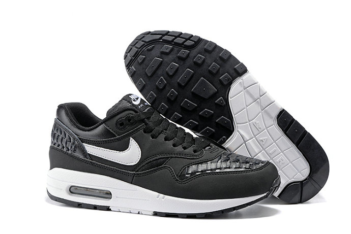 Cheap Nike Air Max Lunar 1 Deluxe Black White On VaporMaxRunning