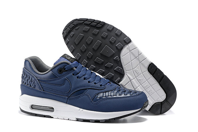 Cheap Nike Air Max Lunar 1 Deluxe Navy Blue Black White On VaporMaxRunning