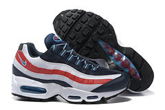 Cheap Nike Air Max 95 20th Anniversary Mens Black Green Red White Shoe On VaporMaxRunning