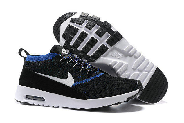 Cheap Nike Air Max Thea Flyknit Blue Black White On VaporMaxRunning