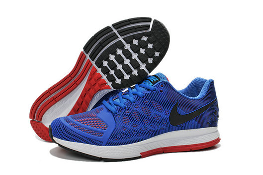 Cheap Nike Zoom Pegasus 31 Blue Black Red On VaporMaxRunning