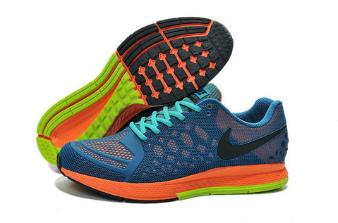 Cheap Nike Zoom Pegasus 31 Blue Orange Green Black White On VaporMaxRunning