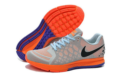 Cheap Nike Zoom Pegasus 31 Purple Grey Black Orange On VaporMaxRunning