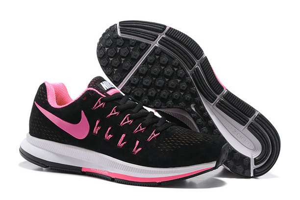 Cheap Nike Air Zoom Pegasus 33 Womens Pink Black White On VaporMaxRunning