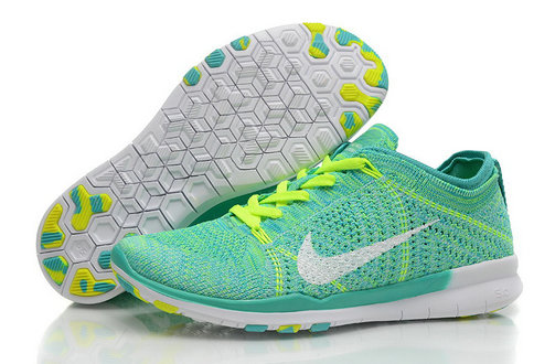 Cheap Nike Free Flyknit 5.0 Green White On VaporMaxRunning