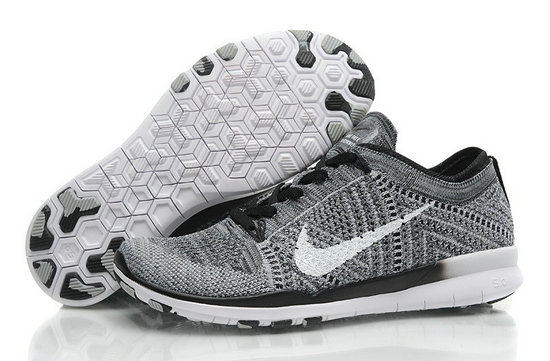 Cheap Nike Free Flyknit 5.0 Grey White Black On VaporMaxRunning