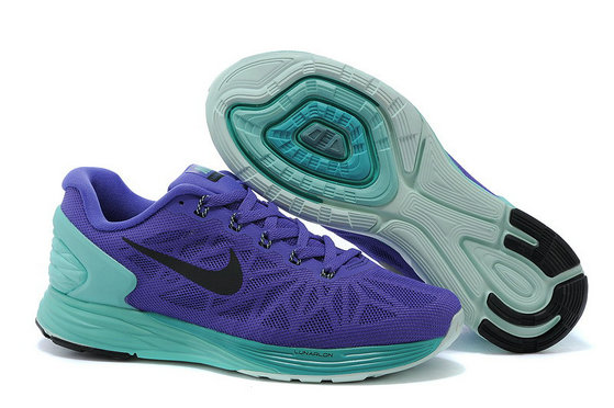 Cheap Nike LunarGlide 6 Womens Green Purple On VaporMaxRunning