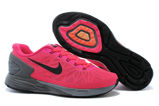Cheap Nike LunarGlide 6 Womens Pink Black On VaporMaxRunning