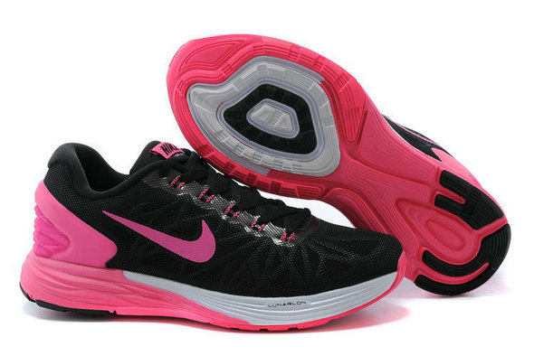 Cheap Nike LunarGlide 6 Womens Purple Pink Black White On VaporMaxRunning