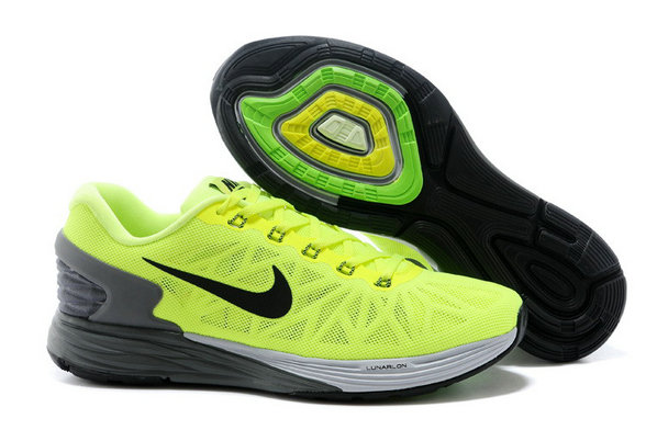 Cheap Nike LunarGlide 6 Fluorescent Green On VaporMaxRunning