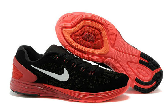 Cheap Nike LunarGlide 6 Orange Black White On VaporMaxRunning