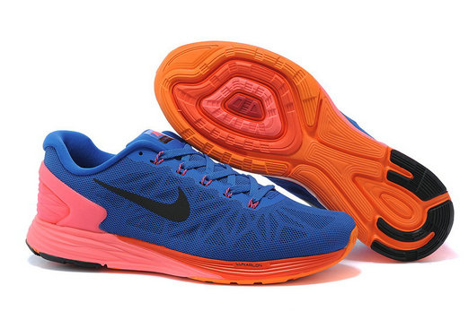 Cheap Nike LunarGlide 6 Royal Blue Orange Black On VaporMaxRunning