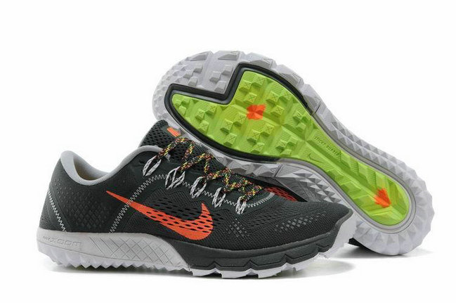 Cheap Nike Zoom TERRA Kinger 2 Grey Orange On VaporMaxRunning