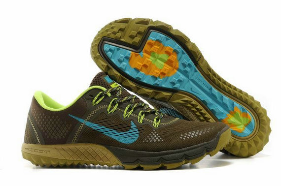 Cheap Nike Zoom TERRA Kinger 2 Olive Blue Green On VaporMaxRunning