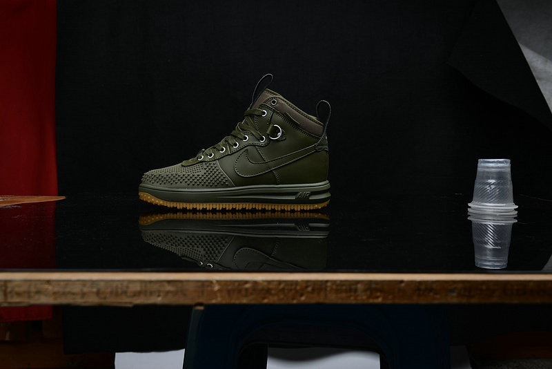 Cheap Nike Lunar Force 1 Duck Boot Army Green On VaporMaxRunning