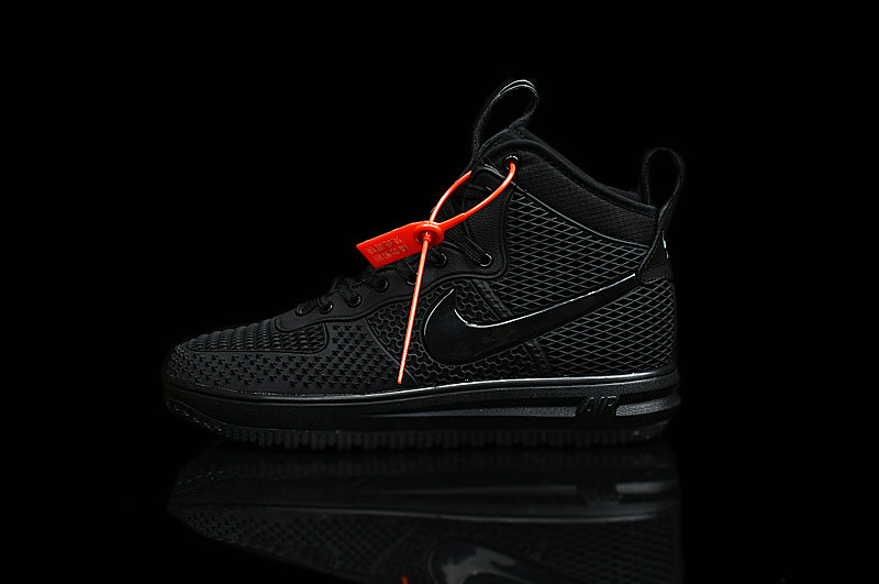 Cheap Nike Lunar Force 1 Duck Boot Black Whole On VaporMaxRunning