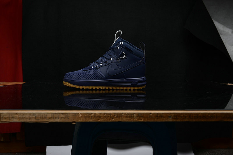 Cheap Nike Lunar Force 1 Duck Boot Navy Blue On VaporMaxRunning