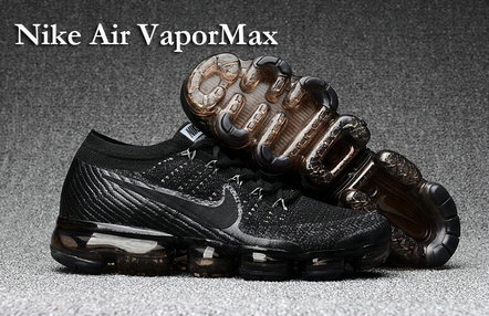 Cheap Nike Air VaporMax Gold Black On VaporMaxRunning
