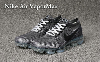 Cheap Nike Air VaporMax Grey Black On VaporMaxRunning