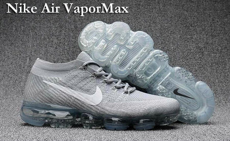 Cheap Nike Air VaporMax Grey On VaporMaxRunning