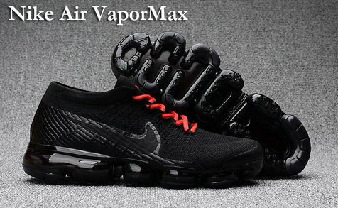 Cheap Nike Air VaporMax Red Black On VaporMaxRunning