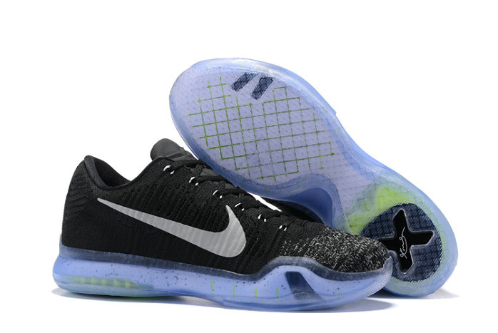Cheap Nike Zoom Kobe10Flyknit Black Grey On VaporMaxRunning