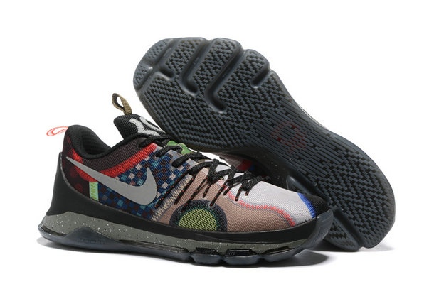 Cheap What The KD 8 Red Grey Black Brown On VaporMaxRunning