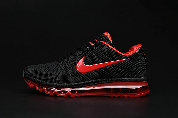 Cheap Air Max 2017 Women Red Black On VaporMaxRunning