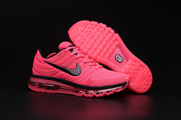 Cheap Air Max 2017 Women Pink Black On VaporMaxRunning