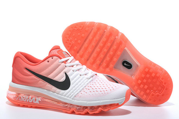 Cheap Air Max 2017 Women Orange Black Grey On VaporMaxRunning