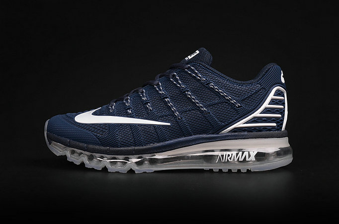 Cheap AirMax 2016 Navy Blue Grey White On VaporMaxRunning