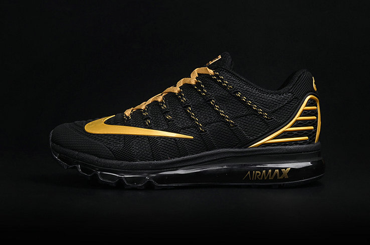 Cheap AirMax 2016 Gold Black On VaporMaxRunning