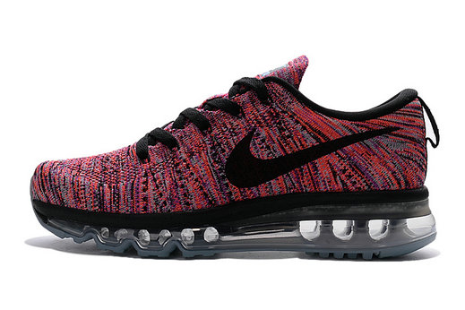 Cheap Flyknit AirMax Womens Red Black Orange Grey On VaporMaxRunning