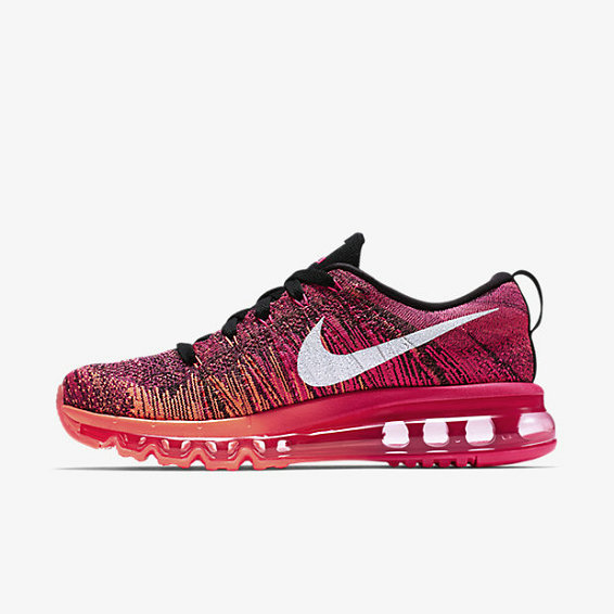 Cheap Flyknit AirMax Womens Pink Black Grey On VaporMaxRunning