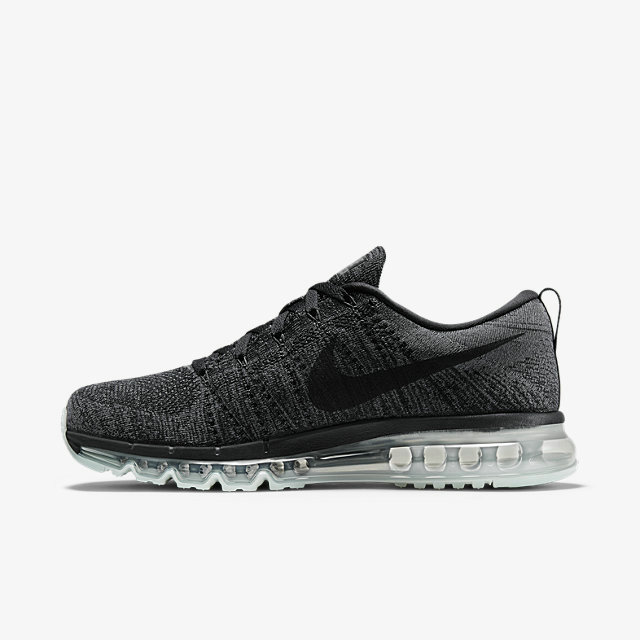 Cheap Flyknit AirMax Womens Grey Black On VaporMaxRunning