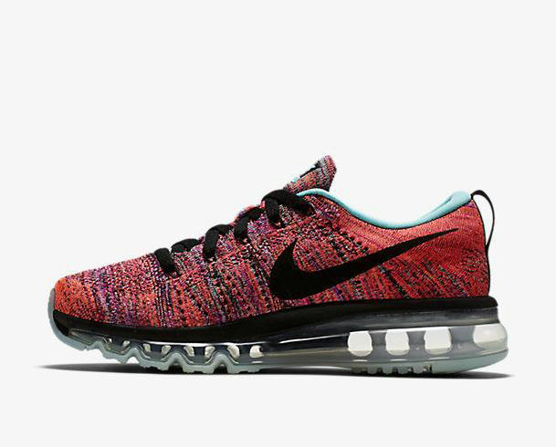 Cheap Flyknit AirMax Womens Black Orange Grey On VaporMaxRunning