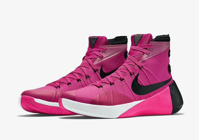 Nike Hyperdunk 2015 Cheap  On Sale Think PinkOn VaporMaxRunning