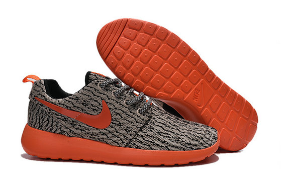 Cheap Nike Roshe One Yeezy 350 Grey Orange On VaporMaxRunning