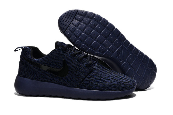 Cheap Nike Roshe One Yeezy 350 All Navy Blue Black On VaporMaxRunning