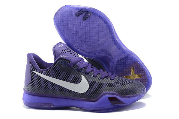 Cheap Kobe 10 X Purple Black White On VaporMaxRunning