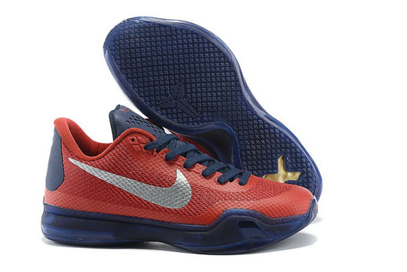 Cheap Kobe 10 X Red Purple Grey On VaporMaxRunning