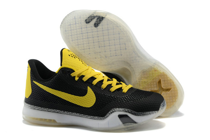 Cheap Kobe 10 X Yellow Black White On VaporMaxRunning