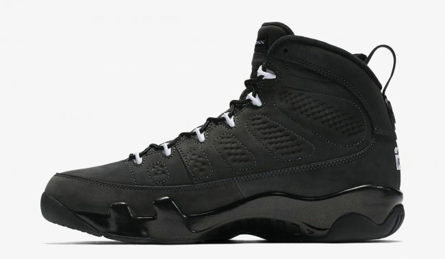 Cheap Air Jordan 9 Anthracite On VaporMaxRunning