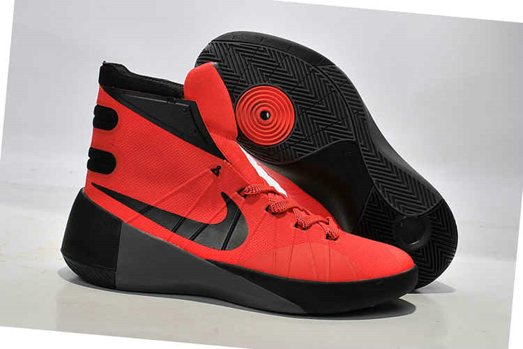 Cheap New Hyperdunk 2015 Red Black On VaporMaxRunning